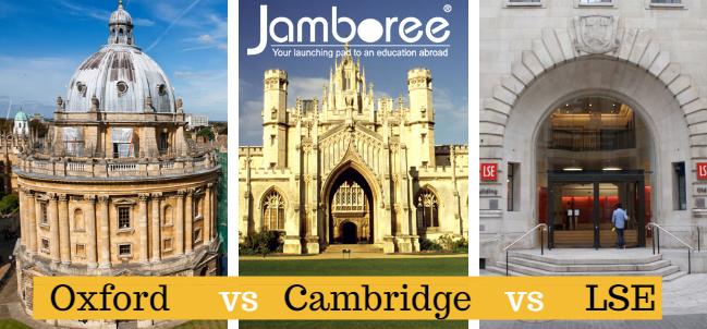 The Jamboree fantasy match up: Oxford vs Cambridge vs LSE