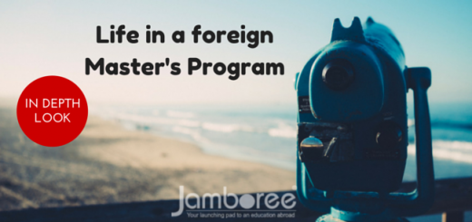 Life in a foreign Master's Program