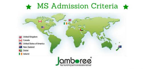 MS Admission Criteria