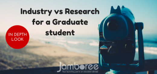 The Jamboree in depth look at Industry vs Research for a Graduate student
