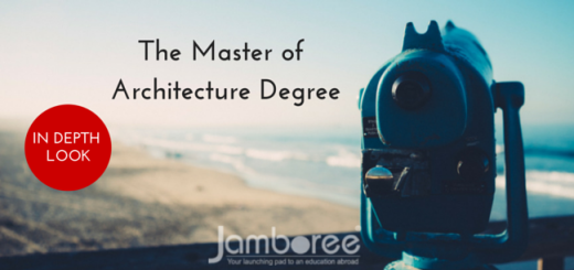 The Master of Architecture degree