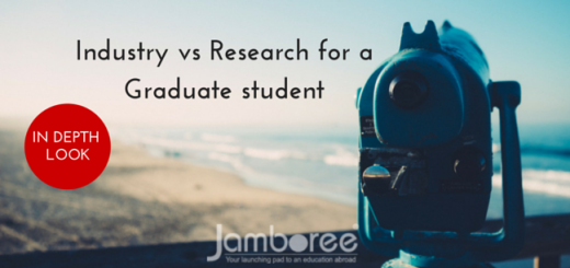 Industry vs Research for a Graduate student