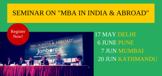 MBA in INDIA & ABROAD SEMINAR