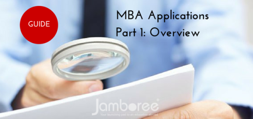 The Jamboree guide to MBA Applications