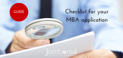 Checklist for your MBA application