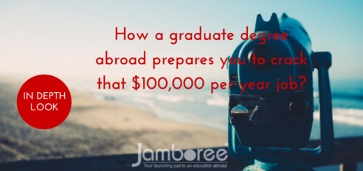 How a graduate degree abroad prepares you to crack that $100,000 per year job