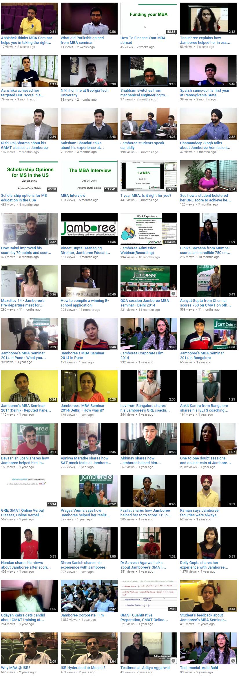 Jamboree India on  YouTube