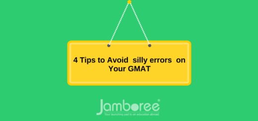 4 Tips to Avoid silly errors on Your GMAT
