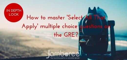 How to master 'Select All That Apply' multiple choice questions on the GRE