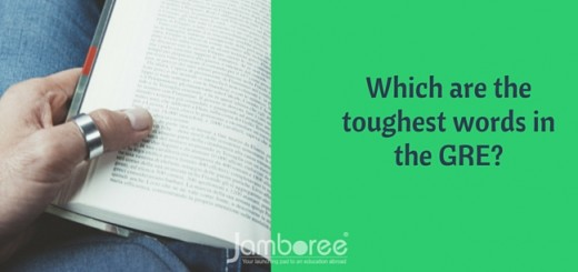 Which are the toughest words in the GRE