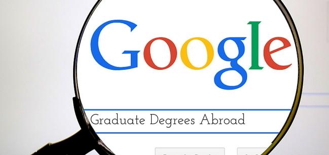 graduate degrees abroad