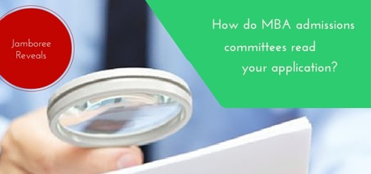 How do MBA Admissions Committees read your application
