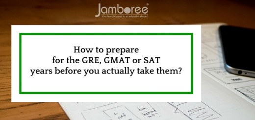 How to prepare for the GRE, GMAT or SAT years before you actually take them