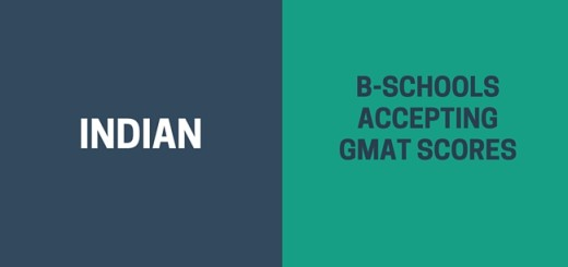 Indian B-schools Accpeting GMAT Score