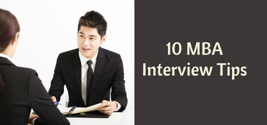 10 MBA Interviews