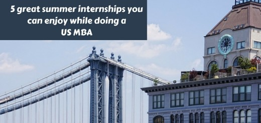 5 great summer internships you can enjoy while doing a US MBA